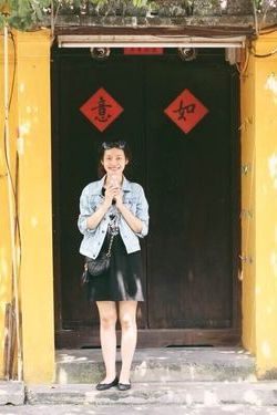 Ha Vy in Hoi An