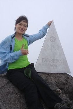 Hong Yen in Fansipan