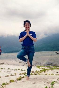 Huyen Trang in Bali