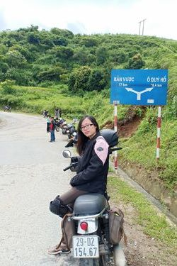 Thu Ha on the road