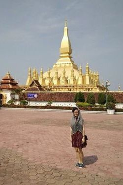 Thu Hang in Laos