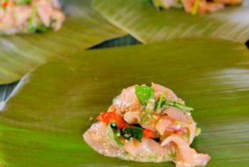 Amantaka Luang Prabang food