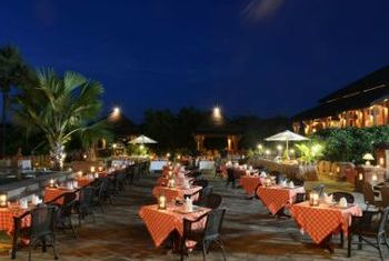Aureum Palace Resort Bagan fine dining