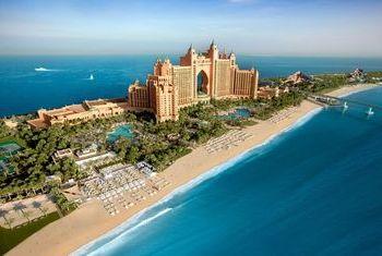 Atlantis The Palm shore