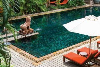 Belmond La Residence D'Angkor pool