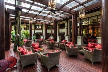 Kandawgyi Palace Hotel restaurant