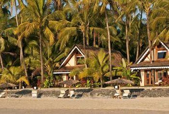 Sandoway Resort Ngapali Beach on the beach