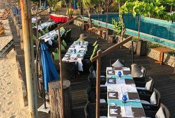 Aureum Palace Spa &Resort Ngapali Beach dining