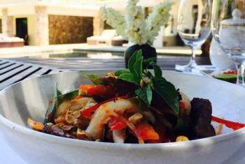 Amansara Siem Reap Bowl of Food