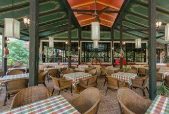 Amazing Bagan Resort Dining option