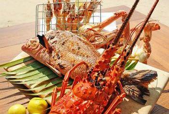 Ngapali Bay Villa & Spa Food 3