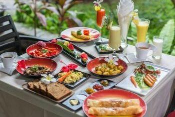 Shanghai Angkor Villas & Spa Resort Siem Reap food