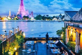 Sala Rattanakosin Bangkok Restaurant by the river
