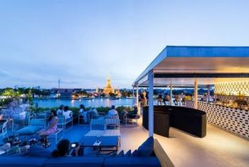 Sala Rattanakosin Bangkok on the river