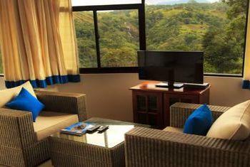 Mountain Heavens Hotel Ella Livingroom