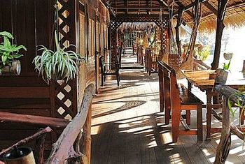 River Kwai Jungle Rafts Kanchanaburi garden