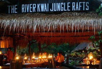 River Kwai Jungle Rafts Kanchanaburi building