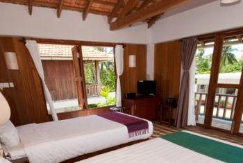 Bambu Battambang Hotel in the room
