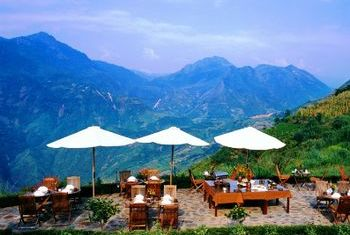 Victoria Sapa Resort and Spa View to the mountain