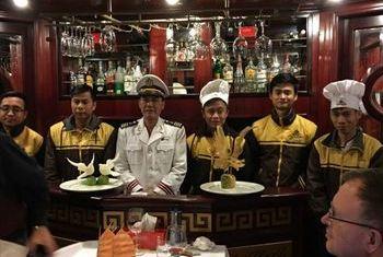 Princess Junk Halong Bay team