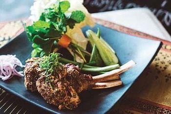 Anantara Siam Bangkok Hotel Dinner