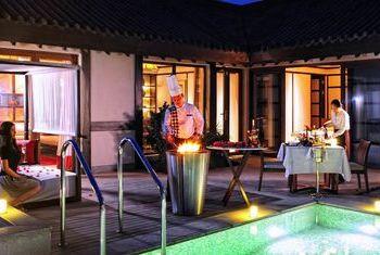 Banyan Tree Chongqing Beibei  room pool