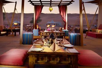 Desert Night Camp - Oman restaurant