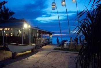 Knai Bang Chatt Resort at night