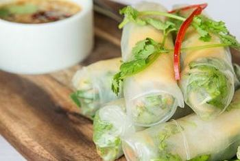 Luang Say Lodge Spring Rolls