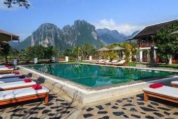 Riverside Boutique Resort Pool