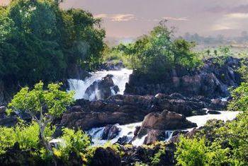 Sala Done Khone Waterfall