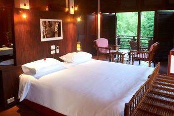Sanctuary Pakbeng Lodge Bedroom