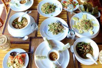 Sanctuary Pakbeng Lodge Food 1