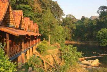 Spring River Resort on the river