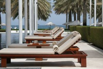 The Chedi Muscat - Oman Sunbed