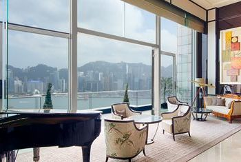 The Peninsula Hong Kong view to the city