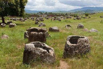 Vansana Plain of Jars Overview surrounding