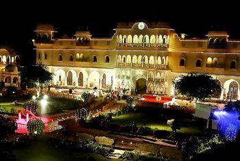 Alsisar Haveli Jaipur At night