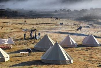 Muet Grassland Camp Tents