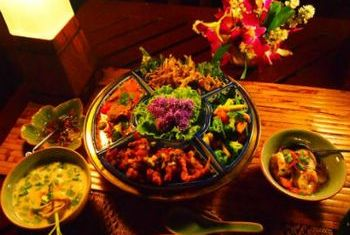 Chakrabongse Villas Bangkok food 2