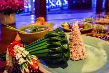Chakrabongse Villas Bangkok dishes