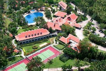 Santiburi Beach Resort & Spa view from above