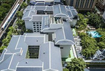 Anantara Siam Bangkok Hotel from above