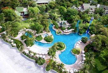 Hyatt Regency Hua Hin from above