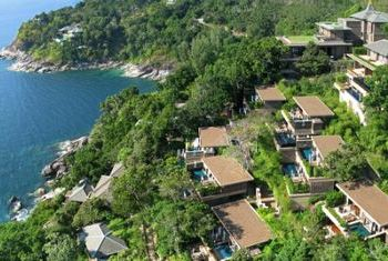 Paresa Resort Phuket from above
