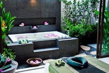 Banyan Tree Samui bath tub