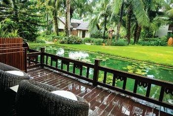 Palm Garden Resort view from balcony