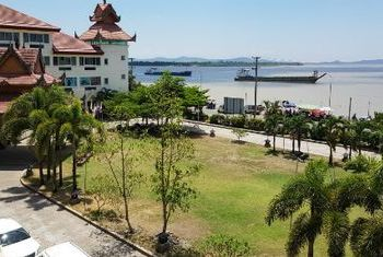 Mawlamyaing Strand Hotel view from the hotel
