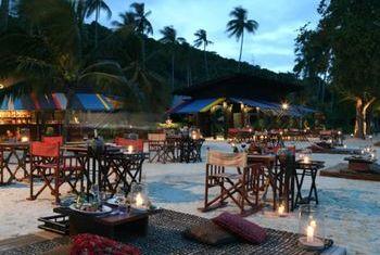 Zeavola Resort & Spa Outdoor Eating