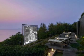 Six Senses Hideaway Samui Outdoor Cinema